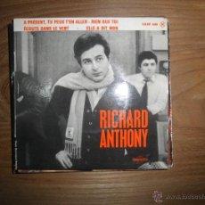 Disques de vinyle: RICHARD ANTHONY . ELLE A DIT NON + 3. EP. COLUMBIA EDICION FRANCESA 1954. Lote 40806265