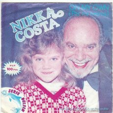 Discos de vinilo: NIKKA COSTA - ON MY OWN, CHAINED TO THE BLUES. ARIOLA 1981. Lote 40806340