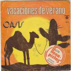 Discos de vinilo: OASIS - VACACIONES DE VERANO / THAT'S IT. VICTORIA 1981. Lote 40806382