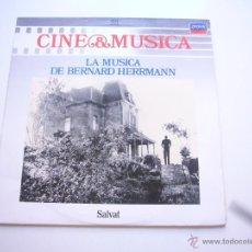 Discos de vinilo: CINE & MÚSICA, Nº 58 - LA MÚSICA DE BERNARD HERRMANN C48. Lote 40814950