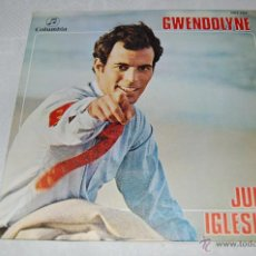 Discos de vinilo: JULIO IGLESIAS GWENDOLYNE. Lote 40815799