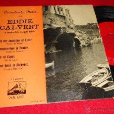 Discos de vinilo: EDDIE CALVERT&NORRIE PARAMOR BY THE FOUNTAINS OF ROME +3 7 EP 1958 ESPAÑA SPAIN RECORDANDO ITALIA. Lote 40815964