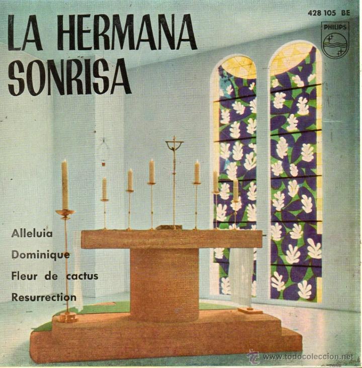 HERMANA SONRISA, EP, DOMINIQUE + 3, AÑO 1962 (Música - Discos de Vinilo - EPs - Pop - Rock Extranjero de los 50 y 60)