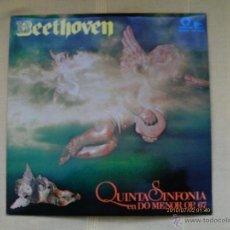 Discos de vinilo: BEETHOVEN - QUINTA SINFONIA EN DO MENOR OP. 67- THE CAPITOLIO SYMFHONY ORCHESTRA - NUEVO - 1973. Lote 40817363