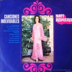 Discos de vinilo: NATI ROMERO - CANCIONES INOLVIDABLES . 10 PULGADAS . 1971 UNIVERSAL - 32607 . Lote 40823248