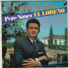 Discos de vinilo: PEPE NUÑEZ, EL LOREÑO. EN UNA HUERTA DE LORA, LO QUE REMEDIO NO TIENE, MARIONETAS DEL ..., EKIPO 196. Lote 40825574