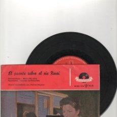 Discos de vinilo: EL PUENTE SOBRE EL RIO KWAI -SINGLE -BANDA SONORA. Lote 40841939