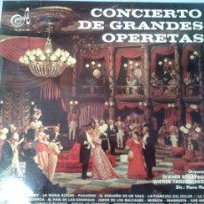 Discos de vinilo: LP CONCIERTO DE GRANDES OPERETAS. Lote 40842633