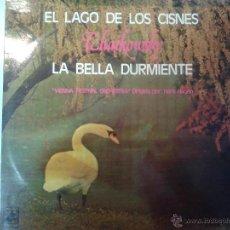 Discos de vinilo: LP DE EL LAGO DE LOS CISNES DE TCHAIKOWSKY - LA BELLA DURMIENTE -. Lote 40842635