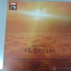 Discos de vinilo: ESTUCHE QUE SE COMPONE DE 3 LPS DE HANDEL EL MESIAS. Lote 40842636