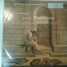 Discos de vinilo: LP DE TCHAIKOWSKY Y SINFONIA ORQUETA DE BOSTON...PIERRE MONTEUX - PATETICA -. Lote 40842642