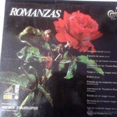 Discos de vinilo: GRAN LP DE ROMANZAS CON - CHOPIN - ALBENIZ - BRAHAMS - GRIEG -. Lote 40842649