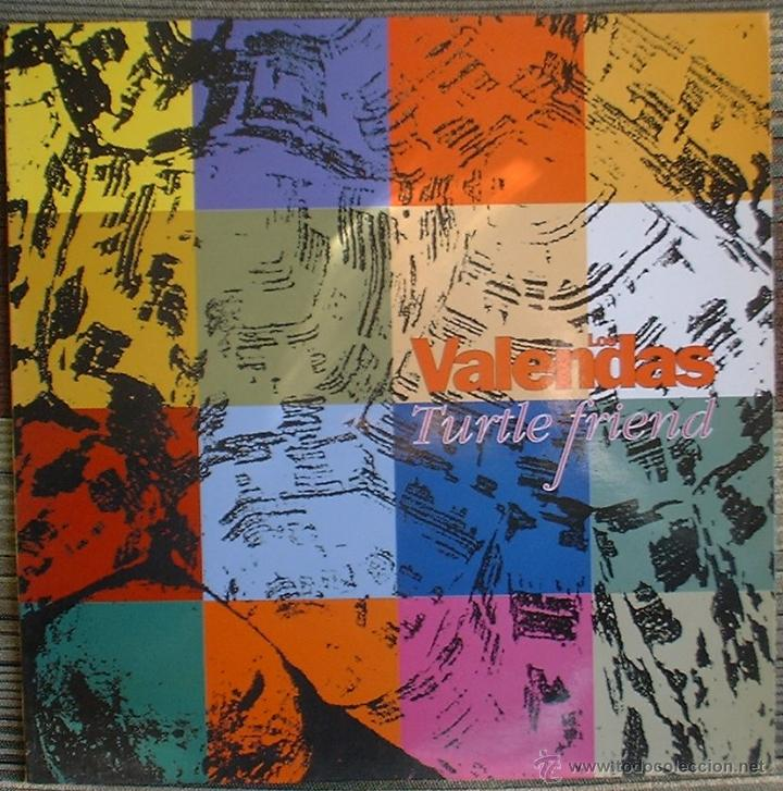 Discos de vinilo: Los Valendas - Turtle Friend - LP Munster Records 1991 - Foto 1 - 40842650