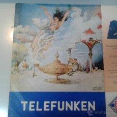 Discos de vinilo: GRAN LP DE RIMSKY - KORSSAKOW- ORQUESTA SINFONICA DE LA RADIO DIFUSION BELGA. Lote 40842661