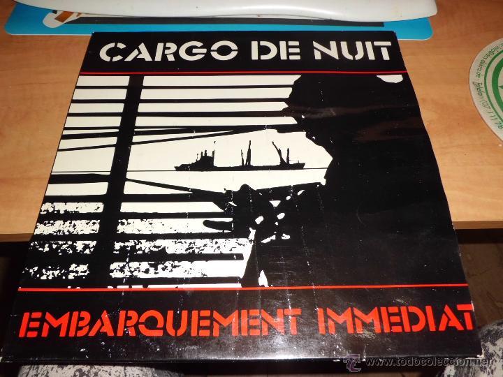 CARGO DE NUIT - EMBARQUEMENT INMEDIAT ED. FRANCESA DOCKER DIFICIL (Música - Discos de Vinilo - EPs - Pop - Rock - New Wave Internacional de los 80)