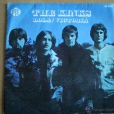Discos de vinilo: THE KINKS LOLA / VICTORIA SINGLE SPAIN 1970. Lote 40849172