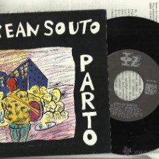 Discos de vinilo: JOXEAN SOUTO SINGLE.PARTO EN EL BAILE/KANTA BATEKIN ESPAÑA 1986 CON HOJA PROMOCIONAL EN VASCO Y CAST. Lote 40850164