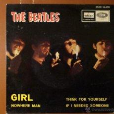 Discos de vinilo: THE BEATLES, GIRL,ODEON Y EMI.. Lote 40850677