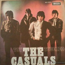 Discos de vinilo: THE CASUALS - TOY / TOUCHED - EDICION ESPAÑOLA - DECCA 1968. Lote 40854271