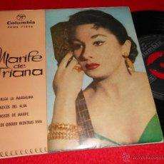 Discos de vinilo: MARIFE DE TRIANA ME VALGA LA MAGDALENA/VILLANCICOS DEL ALBA/VILLANCICOS DE MARIFE +1 EP 1960 COLUMBI. Lote 40858587