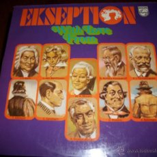 Discos de vinilo: EKSEPTION - WITH LOVE FROM - DISCO DOBLE. Lote 40862934