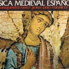 Música Medieval Española Orquesta New York Pr Buy Vinyl Records Lp Other Music Styles At Todocoleccion 40862938