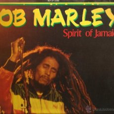 Discos de vinilo: LP BOB MARLEY : SPIRIT OF JAMAICA . Lote 40863048