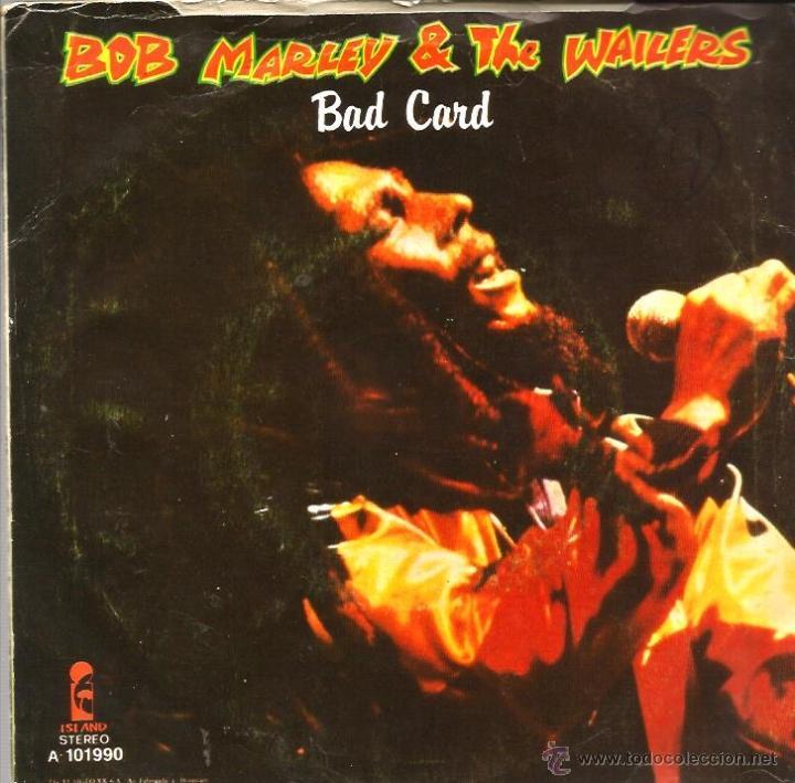 Sg Bob Marley The Wailers Bad Card No Wom Buy Vinyl Singles