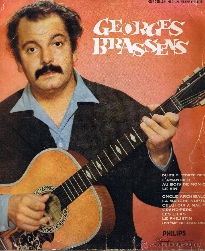 MINIGROVE 33 1/3 - GEORGES BRASSENS ET SA GUITARE - PIERRE NICOLAS (Música - Discos de Vinilo - Maxi Singles - Canción Francesa e Italiana)