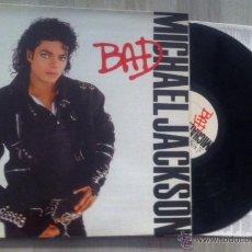 Disques de vinyle: DISCO LP VINILO MICHAEL JACKSON BAD ORIGINAL 1987 EDICION ESPAÑOLA CARPETA DESPLEGABLE. Lote 40874276
