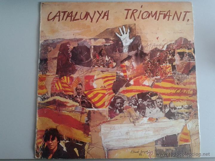 MAGNIFICO LP DE RAMON CALDUCH - EN CATALUNYA - TRIOMFANT - (Música - Discos de Vinilo - Maxi Singles - Solistas Españoles de los 70 a la actualidad)