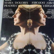 Discos de vinilo: MAGNIFICO LP DE EXITOS DE MARIA DOLORES PRADERA- CON SU DIBUJO PINTADO A LAPIZ EN SU INTERIOR-. Lote 40874424