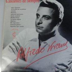 Discos de vinilo: MAGNIFICO LP DE CANCIONES DE SIEMPRE - INTERPRETADAS POR ALFREDO KRAUSS -. Lote 40874517
