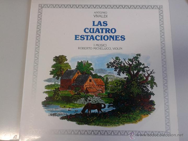 MAGNIFICO LP DE ANTONIO VIVALDI - LAS CUATRO ESTACIONES - (Música - Discos de Vinilo - Maxi Singles - Clásica, Ópera, Zarzuela y Marchas)
