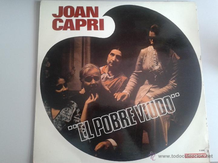 MAGNIFICO LP DEL HUMORISTA JOAN CAPRI - DEL AÑO 1969 - (Música - Discos de Vinilo - Maxi Singles - Solistas Españoles de los 70 a la actualidad)