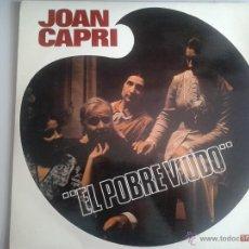 Discos de vinilo: MAGNIFICO LP DEL HUMORISTA JOAN CAPRI - DEL AÑO 1969 -. Lote 40874732