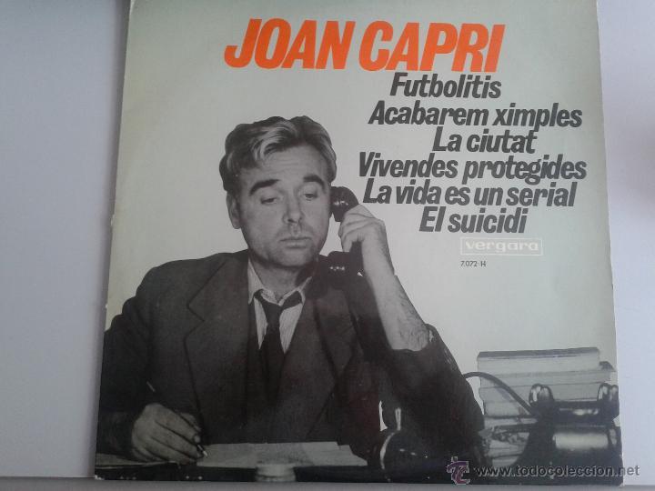 MAGNIFICO LP DEL HUMORISTA JOAN CAPRI - DEL AÑO 1968 - (Música - Discos de Vinilo - Maxi Singles - Solistas Españoles de los 70 a la actualidad)