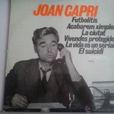 Discos de vinilo: MAGNIFICO LP DEL HUMORISTA JOAN CAPRI - DEL AÑO 1968 -. Lote 40874779