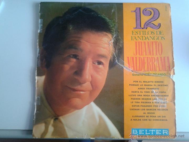 MAGNIFICO LP DE 12 ESTILOS CON JUANITO VALDERRAMA- (Música - Discos de Vinilo - Maxi Singles - Flamenco, Canción española y Cuplé)
