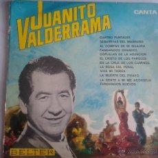 Discos de vinilo: MAGNIFICO LP DE JUANITO VALDERRAMA- FANDANGOS NUEVOS Y EL CRISTO DE LOS FAROLES -. Lote 40875370