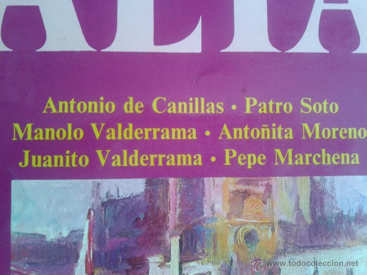 Discos de vinilo: MAGNIFICO LP DE SAETAS - ANTONIO DE CANILLAS - JUANITO VALDERRAMA - PEPE MARCHENA - - Foto 4 - 40875637