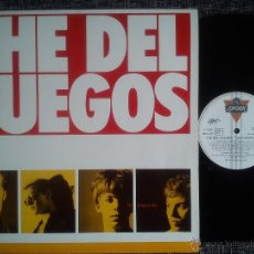Discos de vinilo: THE DEL FUEGOS. THE LONGEST DAY. LP LONDON RECORDS 820 154-1. ESPAÑA 1987. ROCK ALTERNATIVO.. Lote 40875849
