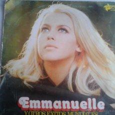 Discos de vinilo: MAGNIFICO LP DE EMMANUELLLE - EN EXITOS MUNDIALES -. Lote 40875968