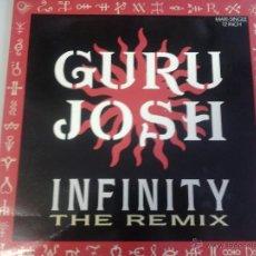 Discos de vinilo: MAGNIFICO LP DE GURU -JOSCH -. Lote 40876019