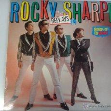 Discos de vinilo: MAGNIFICO LP DE ROCKY - SHARPE - ROCK-IT-TOMARRS -. Lote 40876211