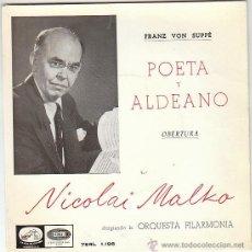 Discos de vinilo: NICOLAI MALKO, POETA Y ALDEANO DE SUPPÉ, SINGLE EDITADO POR LA VOZ DE SU AMO EN 1958. Lote 40877144