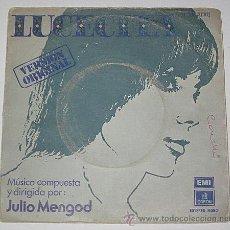 Discos de vinilo: LUCECITA. JULIO MENGOD. SINGLE 1975. TEMA DEL FILM SEVEN JACKALS.. Lote 40877170
