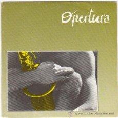 Discos de vinilo: OPERTURA - EL ABISMO / ENCANTADA, SEPPANO 1985, PROMO. Lote 40877785