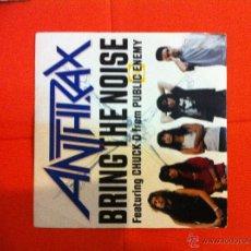 Discos de vinilo: ANTHRAX- BRING THE NOISE. Lote 40882680