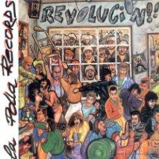 Discos de vinilo: LP LA POLLA RECORDS REVOLUCION! ROCK RADIKAL VASCO PUNK VINILO + 2 TEMAS EXTRA. Lote 217874875